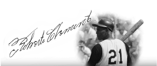 Roberto Clemente Photo and Signature