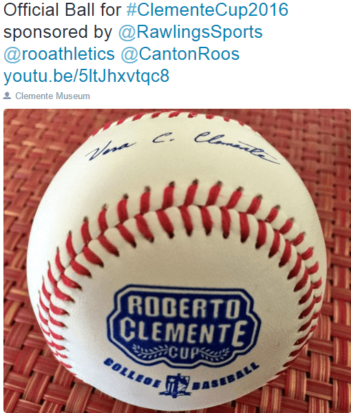 The Official Ball that Rawlings provided.