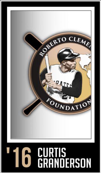 Curtis Granderson - Roberto Clemente Award Winner