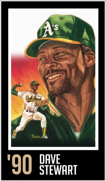 Dave Stewart - Roberto Clemente Hall of Fame