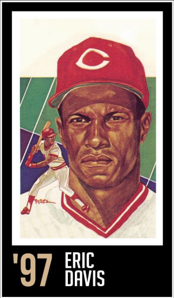 Eric Davis - Roberto Clemente Hall of Fame