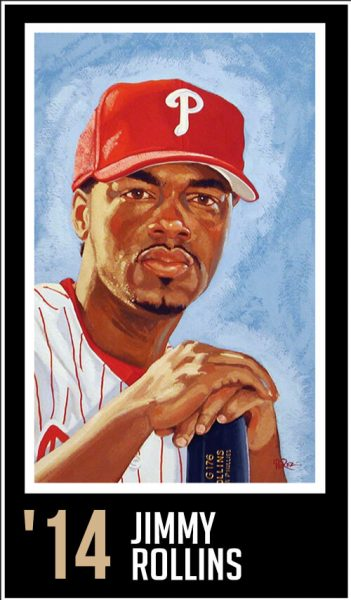 Jimmy Rollins - Roberto Clemente Award Winner