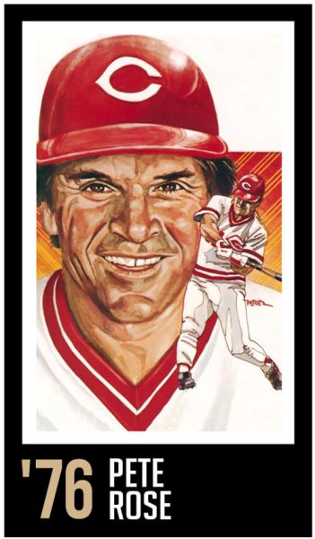 Pete Rose - Roberto Clemente Award Winner