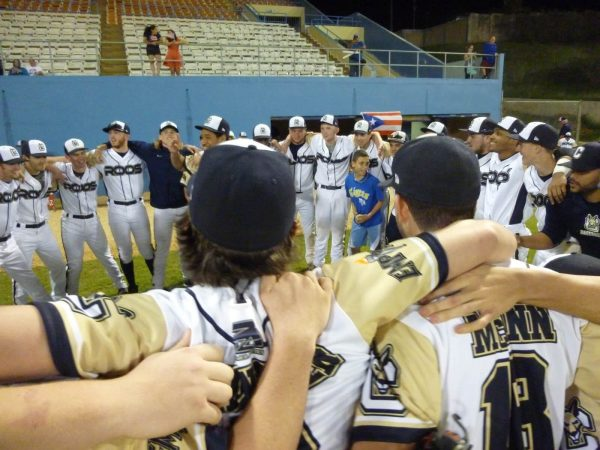 The emotions were high prior to the Clemente Cup Championship Game.  (Photo by Nate Hart)