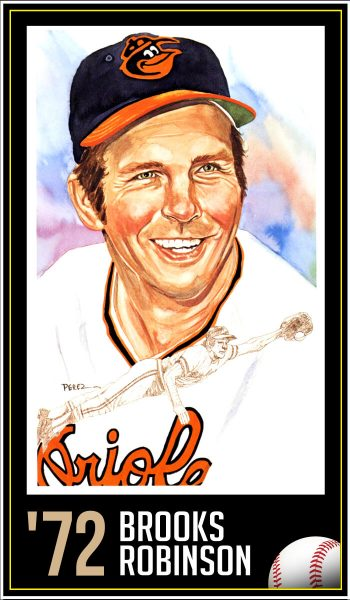 Brooks Robinson - Roberto Clemente Award Winner