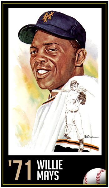 Willie Mays - 1971 Roberto Clemente Award Winner