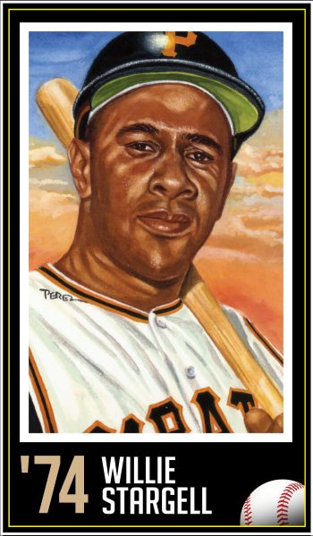 Willie Stargell - Roberto Clemente Award Winner