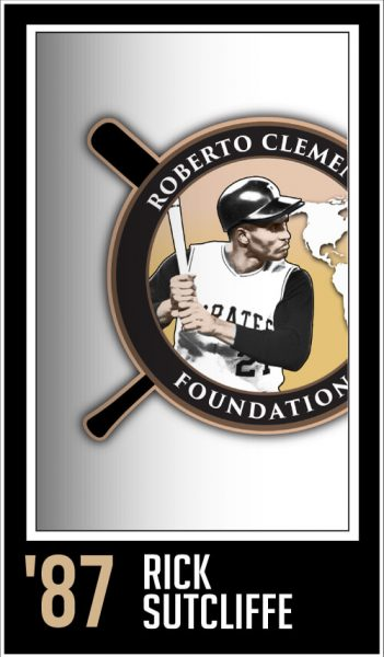 Rick Sutcliffe - Roberto Clemente Award Winner