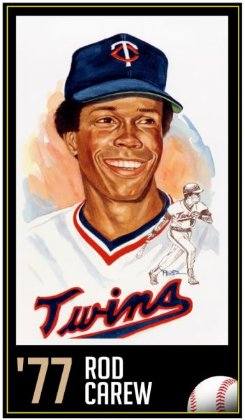 Rod Carew - Roberto Clement Award Winner