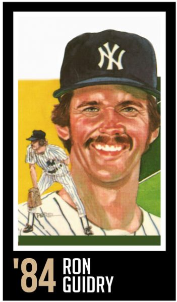 Ron Guidry - Roberto Clemente Award Winner