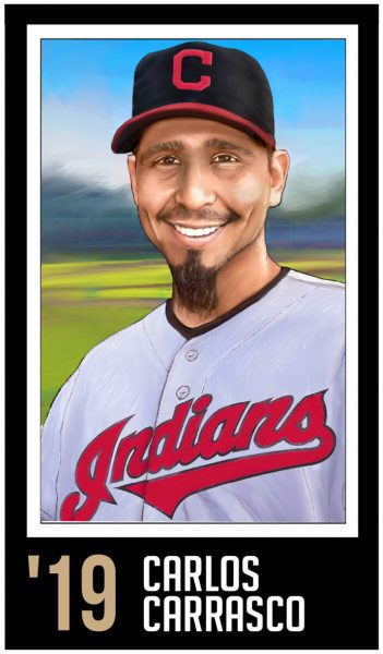 Carlos Carrasco-Roberto Clemente Award Winner